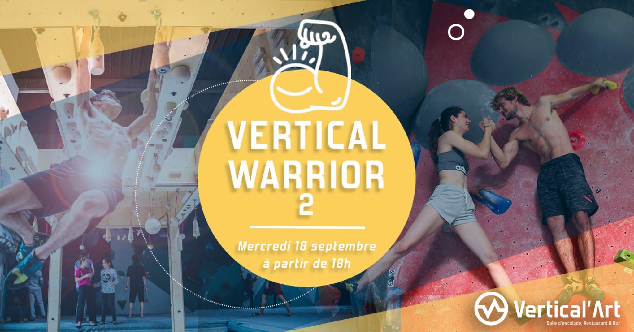 verticalWarrior 2 - contest - semaine - salle d'escalade restaurant bar