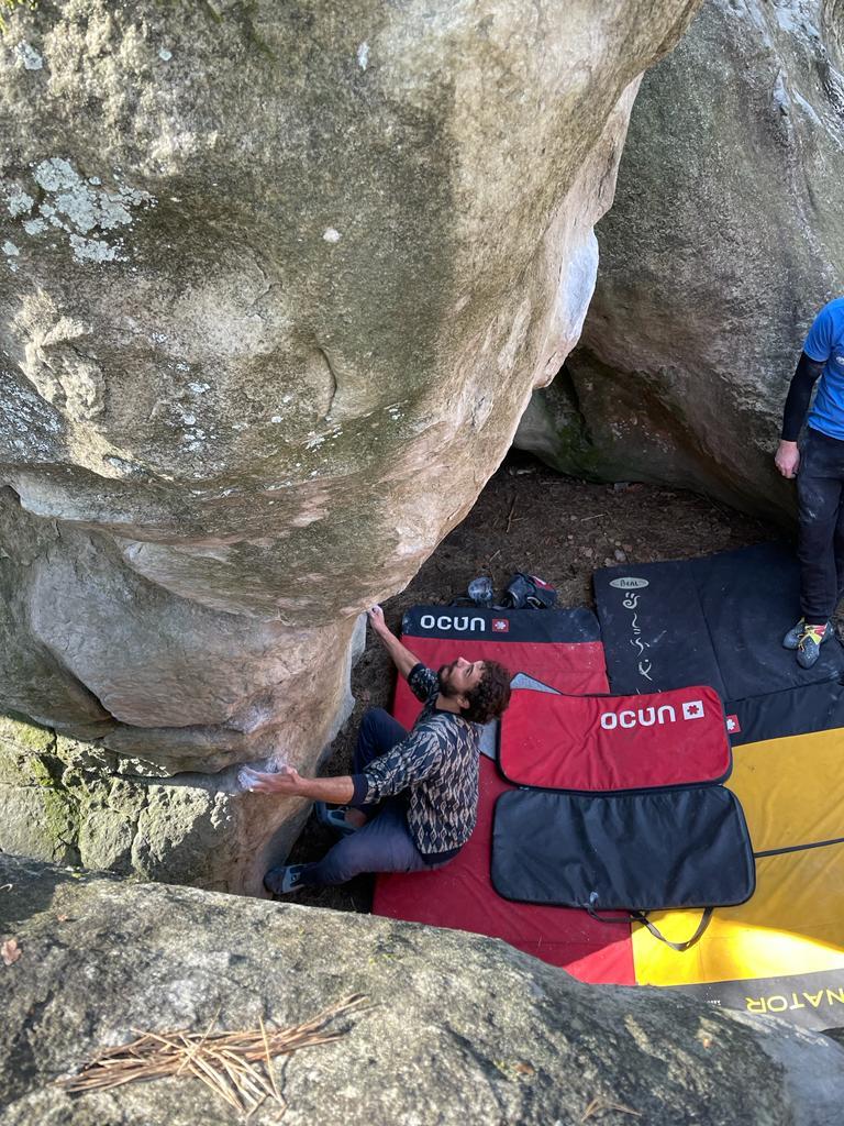 Nouveauté VA SQY : ouverture de la location de crash pads à tous nos grimpeurs, 2 crash pads disponibles, modèle Ocun Dominator